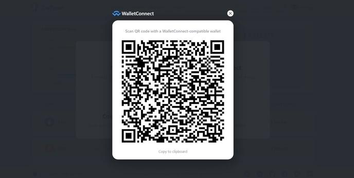 Web WalletConnection